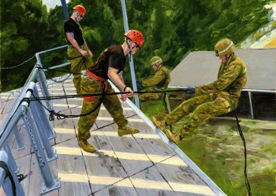 26MEU Rappelling exercise