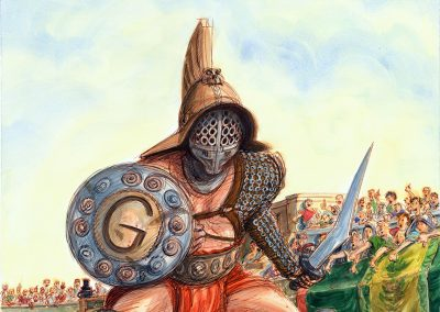 G IS FOR GLADIATOR- Sleeping Bear Press