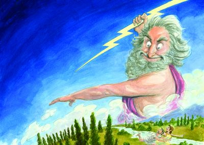 Z IS FOR ZEUS-Sleeping Bear Press