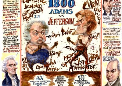1800- ADAMS v JEFFERSON